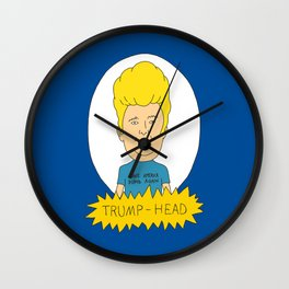 TRUMP-HEAD Wall Clock