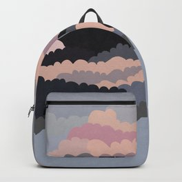 Magic Sunset Clouds On The Sky Backpack