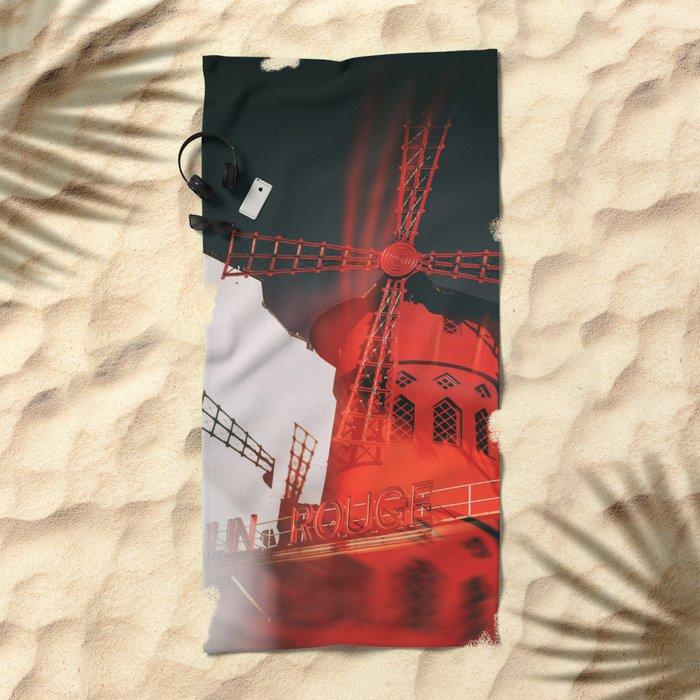 cabaret Beach Towel