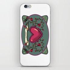love  and heart iPhone & iPod Skin