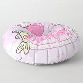 Shy Shrimp - Birthday Cake Floor Pillow