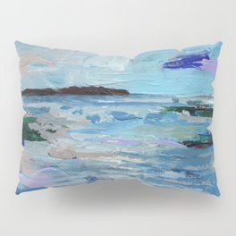 Wave. Beach Painting Series No.9 Pillow Sham