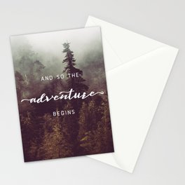 And So The Adventure Begins - Pacific Northwest Stationery Cards