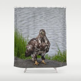Immature Closeup Shower Curtain