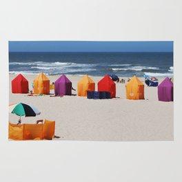 Colors on a beach Rug