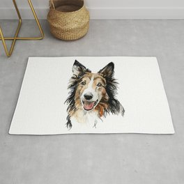 Rough collie Rug