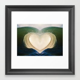 Aloha Barrel 9/6/15 Framed Art Print