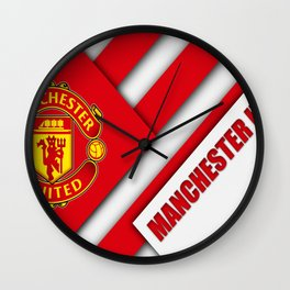 Manchester United : The Red Devils Wall Clock