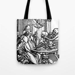 Danse Macabre. XXVII. The Astrologer Tote Bag