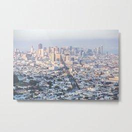 Cityscape View Metal Print