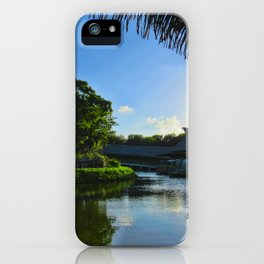 Balcony/Waterfront View iPhone Case