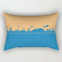 Find Your Angle_Travel_biColor Rectangular Pillow