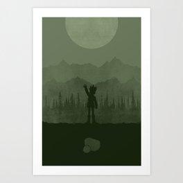 Gon Art Print