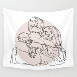 spread hugs Wall Tapestry