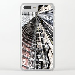 Paddington Station Art Clear iPhone Case