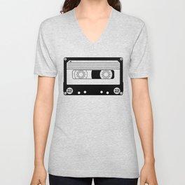 Cassette Tape Unisex V-Neck