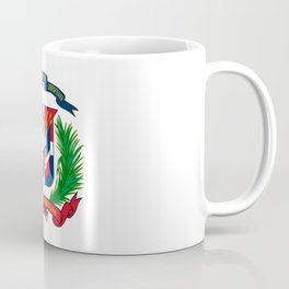 seal of the dominican republic-dominican,hispaniola,dominicana,antilles,caribean,santo domingo Coffee Mug