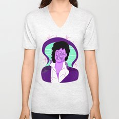 When Doves Cry Unisex V-Neck