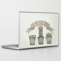 cacti Laptop & iPad Skins featuring Cacti by cyrrs