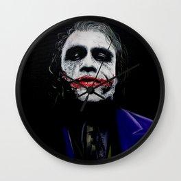 "The Joker ""Heath Ledger"" Wall Clock"