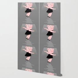 Pig Ballerina Wallpaper