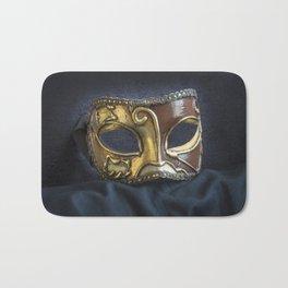 Venetian Mask Bath Mat
