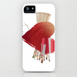 For The Love Of Art iPhone Case