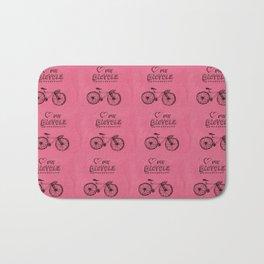 Love my Bicycle Bath Mat