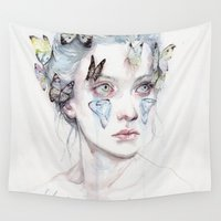 youtube Wall Tapestries featuring love and sacrifice by agnes-cecile