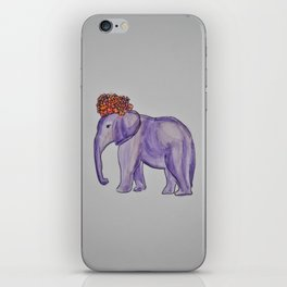 stylish elephant iPhone Skin
