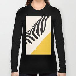 Zebra Abstract Long Sleeve T-shirt