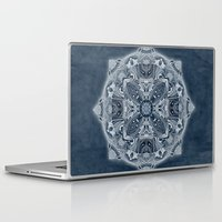 blueprint Laptop & iPad Skins featuring Natural Blueprint by DebS Digs Photo Art