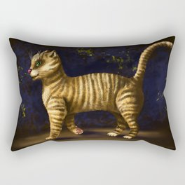 Kuzma cat Rectangular Pillow