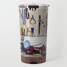 Dirty workbench Travel Mug