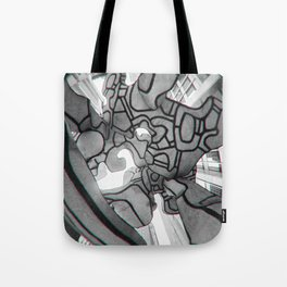Group of four trees Tote Bag