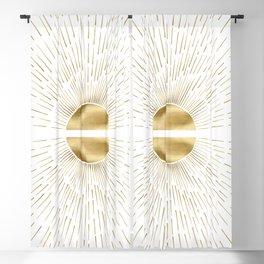 Golden sun Blackout Curtain