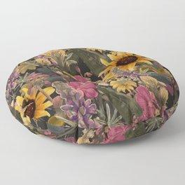 Palouse Region Wildflowers Floor Pillow