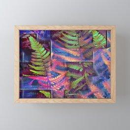 Farn abstrakt Framed Mini Art Print
