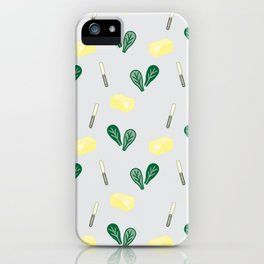 Butter & Spinach iPhone Case