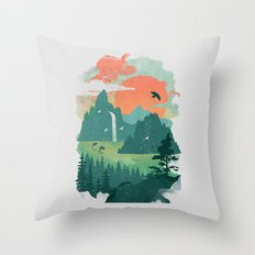 Lost Cove Throw Pillow