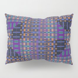 geometric ensemble Pillow Sham