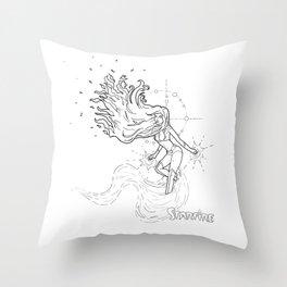 Light Titan Throw Pillow