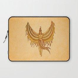 Isis, Goddess Egypt with wings of the legendary bird Phoenix Laptop Sleeve