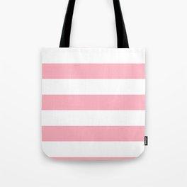 Light Pink Stripes | Digital Design | Pattern Tote Bag