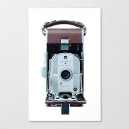Vintage Land Camera Canvas Print