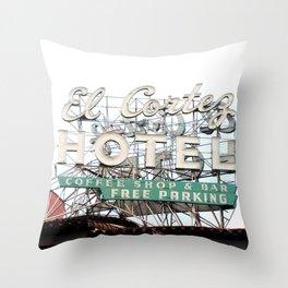 EL CORTEZ - PHOTO Throw Pillow