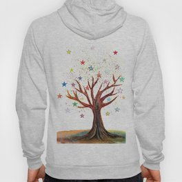 Star Tree Illustration Art Hoody