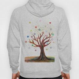 Star Tree Illustration Art Hoody