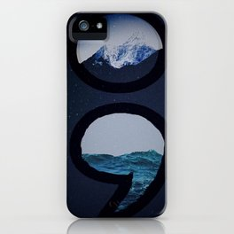 Keep Going Over Mountains and Never Sink iPhone Case
