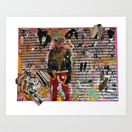 Still - Hanging Out In Coney Island Art Print